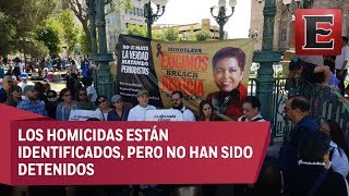 En Chihuahua exigen justicia para Miroslava Breach