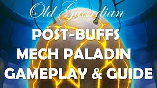 Mech Paladin deck guide and gameplay (Hearthstone Rise of Shadows)