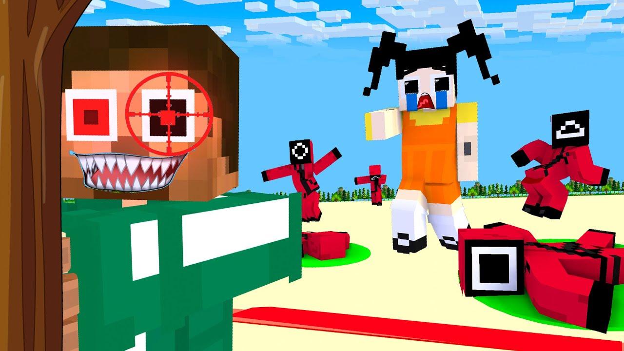 Monster School : Squid Game Parody Baby Zombie Revenge - Sad Story - Minecraft Animation