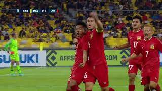 Phithack Kongmathilath 7' vs Malaysia (AFF Suzuki Cup 2018 : Group Stage)