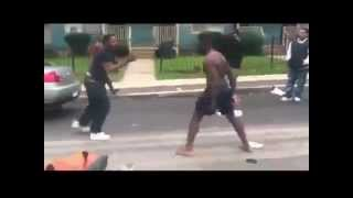 when talking goes wrong old head takes a l after instigating fight