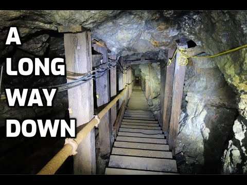 Special Visit To The Incredible 16 To 1 Mine: Part 5 - Down To The 1700 Level