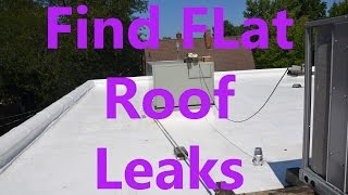 Flat Roof Leaks