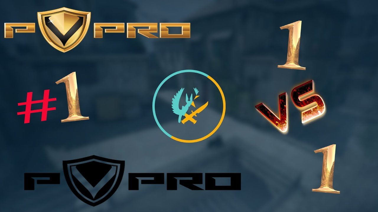 1v1 mecevi CS:GO PVPRO #1