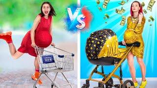الحامل الغنيه مقابل الحامل المفلسه