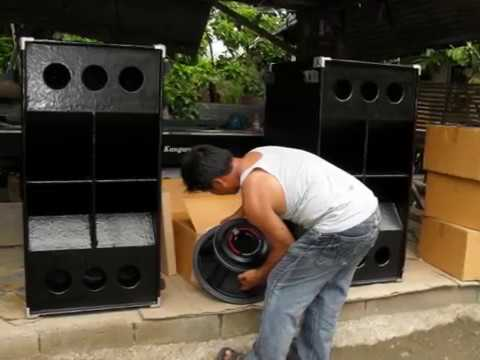REMORIN MOBILE SOUND SYSTEM, PICTURE OF NEW 4pcs of P AUDIO sd18el, for DUAL SUB +more