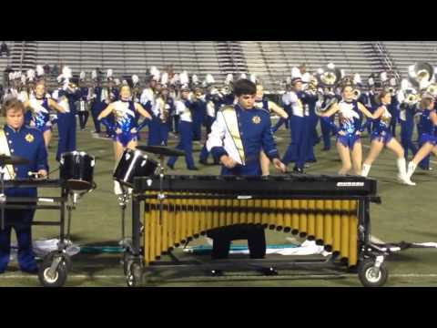 2015 Arab High School Marching Band at Midsouth (close up)