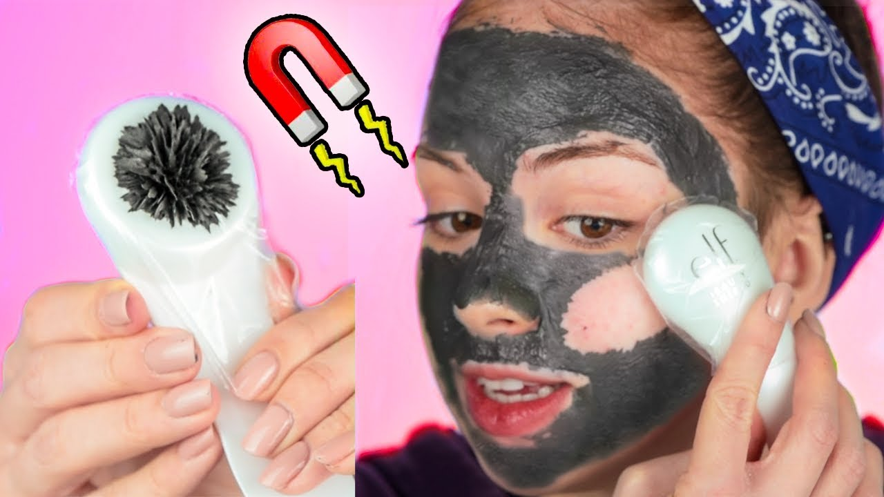 MAGNETIC Face Mask?! - YouTube