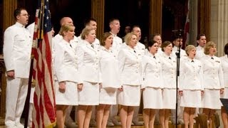 Navy Band Sea Chanters sing patriotic music