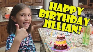 LAST DAY OF BEING AN 8-YEAR-OLD!!! Happy Birthday Jillian!