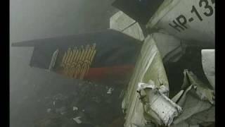 Arenal volcano and plane crash  Costa Rica