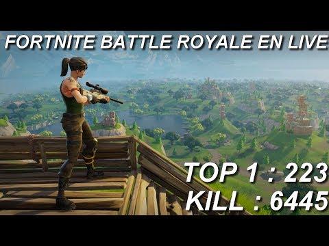 [FR/PC/LIVE] Fortnite  en solo 223 wins!