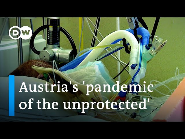 COVID news: Austria threatens lockdown for unvaccinated only | DW News