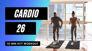 Very Sweaty Cardio Workout ? Anaerobic Exercise // HIIT Workouts: 49