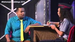 Maharaja Lawak Mega 2014 - Kerusi Panas 1 (Mamu)