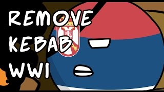 Countryball animation: How Serbia ended WW1