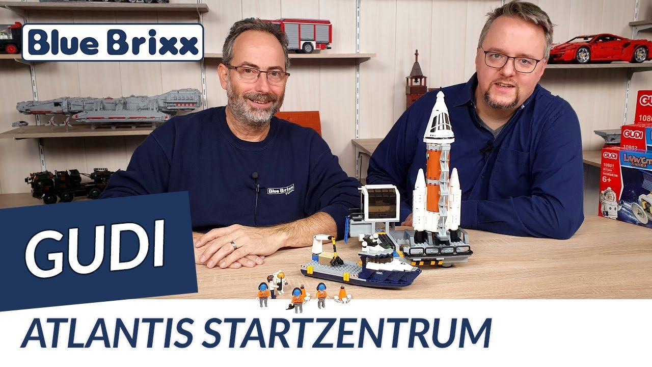 Download Atlantis-Startzentrum von Gudi @ BlueBrixx - ein tolles Raumfahrtset für Kinder!