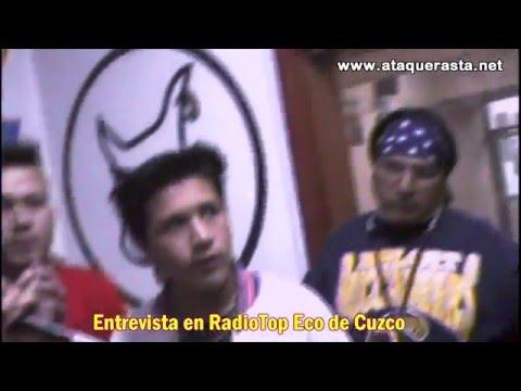 ATAQUE RASTA EN RADIO DE CUZCO, CHONGUEANDO LA PREVIA de ENTREVISTA