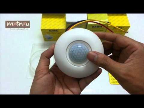 Công tắc đèn cảm ứng gắn trần SS70 - www.matnau.vn