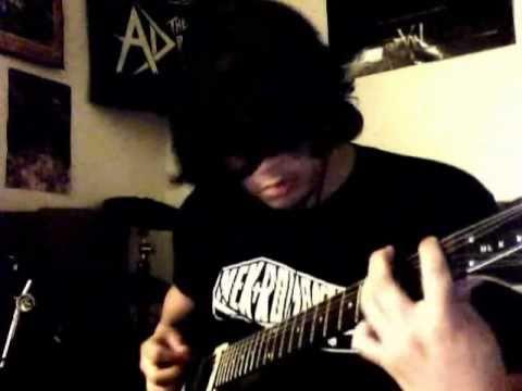 Nekromantix- Nekrofelia Guitar Cover
