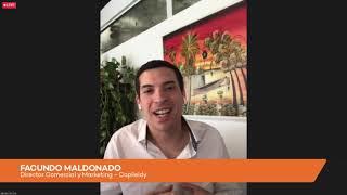 Facundo Maldonado en el evento INNOVATION de El Cronista