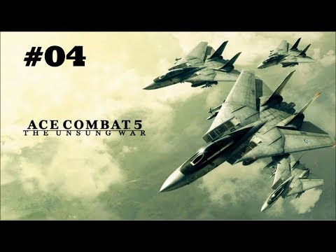 Invading Yuktobania. Let's Play: Ace Combat 5 part 4