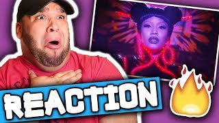 Nicki Minaj - Chun-Li (Music Video) REACTION