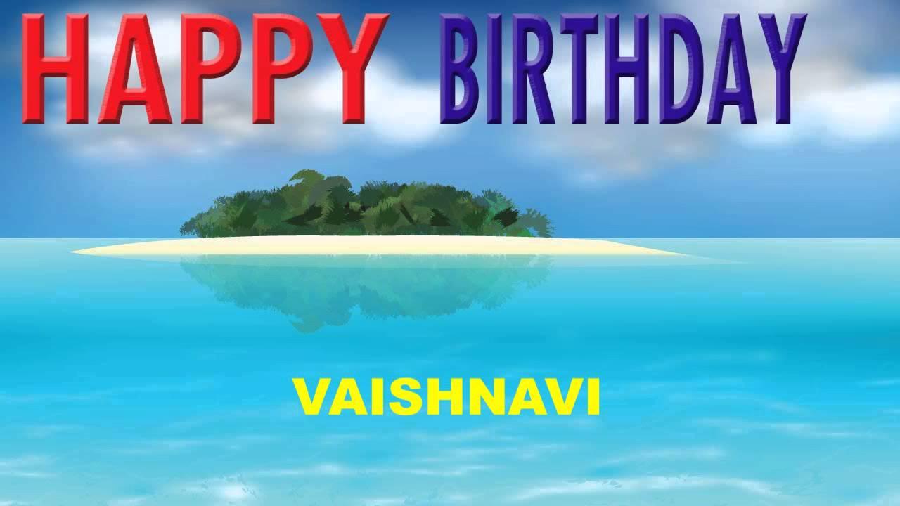 Vaishnavi Card Tarjeta 280 Happy Birthday