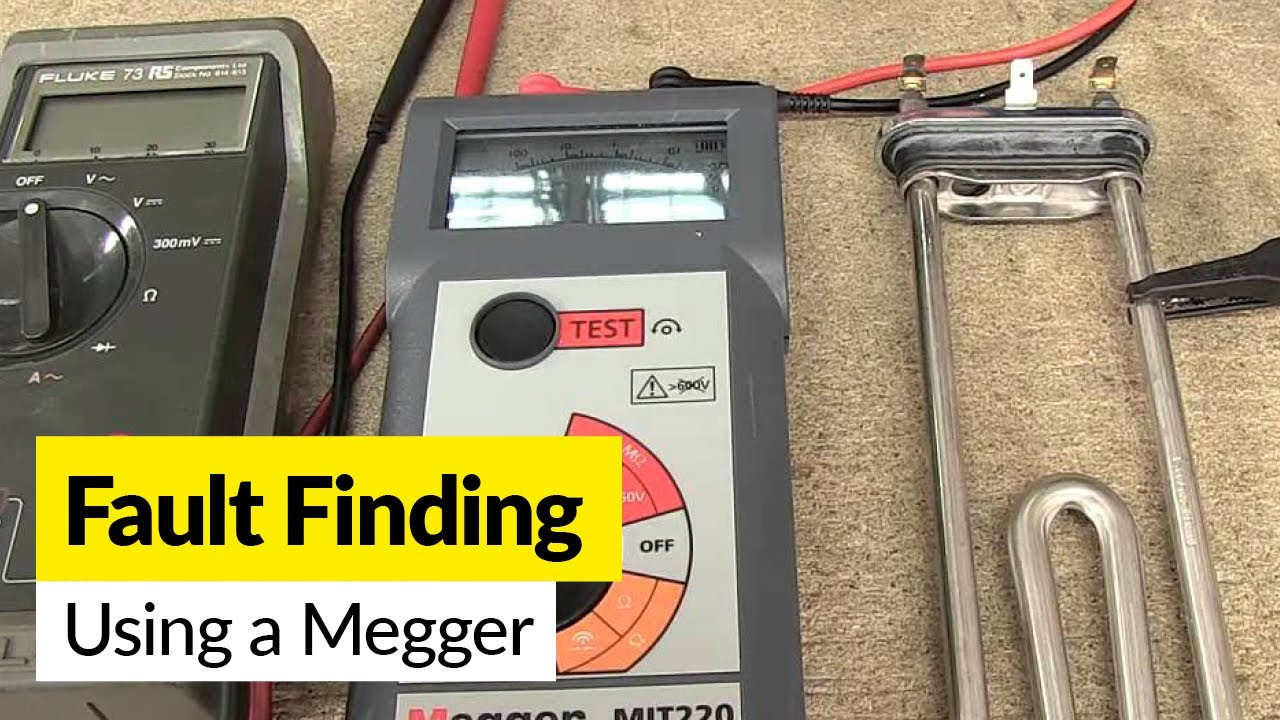 How To Use A Megger Identify Faulty Component Youtube Atlas Lighting Ballast Wiring Diagram Premium