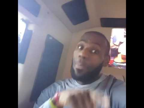 Lebron James dancing to Really got it