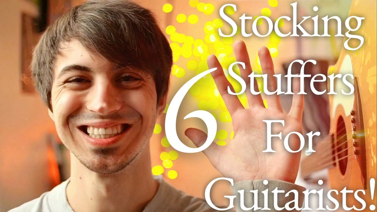 6 perfect stocking stuffers for guitarists christmas gifts for musicians