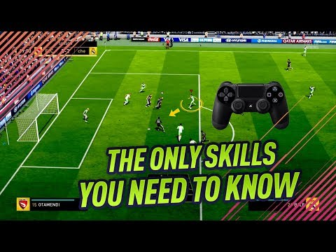 THE ONLY SKILL MOVES YOU NEED TO KNOW IN FIFA 18 - EASY & EFFECTIVE TUTORIAL