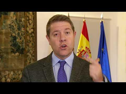 VÍDEO | Comunicado oficial García-Page sobre el acuerdo de investidura con ERC