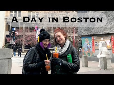 A Day in Boston - April 8th, 2018 Travel Diary