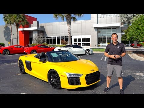Is this used 2018 Audi R8 V10 Plus Spyder a supercar VALUE?