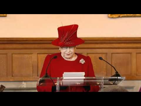 Queen Elizabeth II on the role of the Church of England