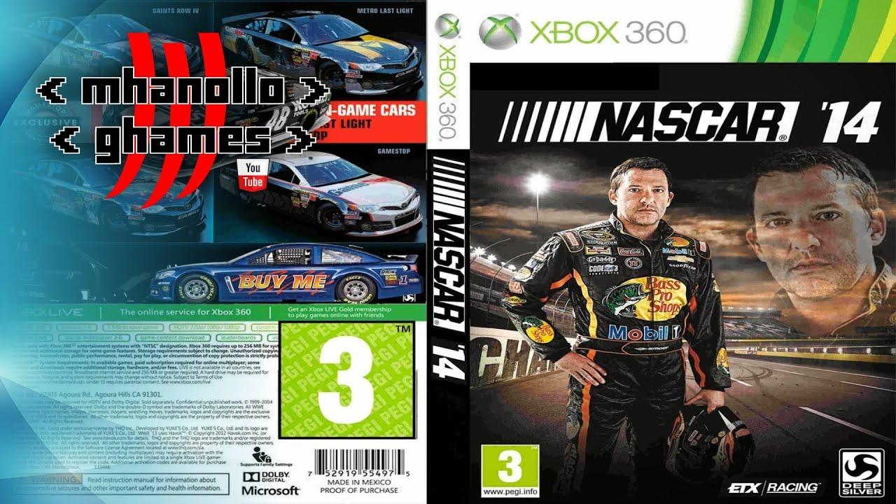 XBOX 360 Nascar 2014 HD YouTube