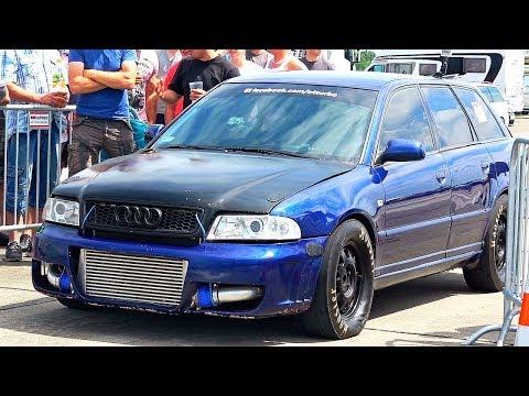900HP Audi S4 2.7 V6 Turbo Accelleration Sounds