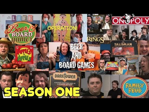 Beer And Board Games Season 1 - Every Episode