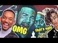 Painting Will Smith & Jaden Smith on my Mansion! #ZOMBIES