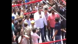 The Great KHALI Visit UDAIPUR, FANS Get CRAZY