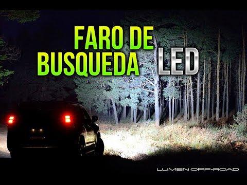 FARO DE BUSQUEDA LED MUY POTENTE 500m de alcance