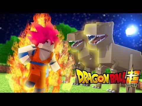 Minecraft: DIÁRIO DE UM SAIYAJIN #22 - TREINAMENTO DE SSJ GOD !! (Dragon Ball Super)