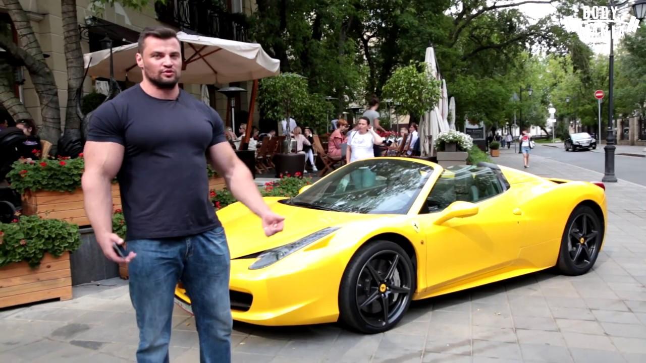 СтопХам - качок на Ferrari!