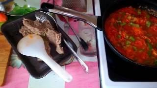 Овощной суп с брокколи и цветной капустой