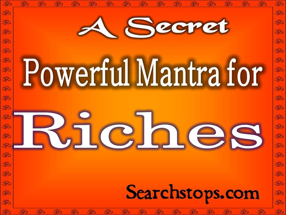 Friday Mantra for Money And wealth - Mantra to Become rich in few weeks