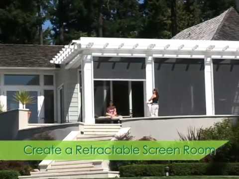ENVIROBLIND | Enviroscreen Retractable Solar Screens