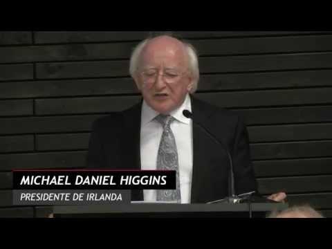 President of Ireland, Michael D. Higgins, delivers lecture at UDP