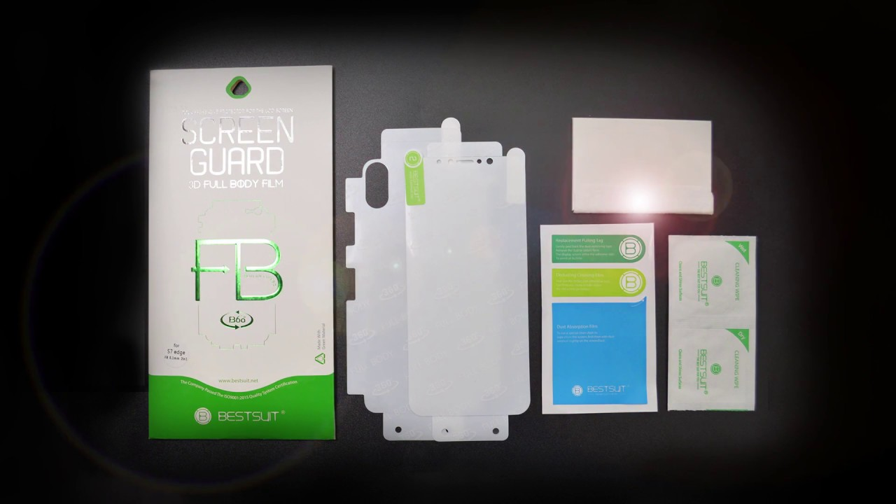 finest selection c3030 2a90b BESTSUIT--samsung Invisible TPU Full Body Screen Protector Show
