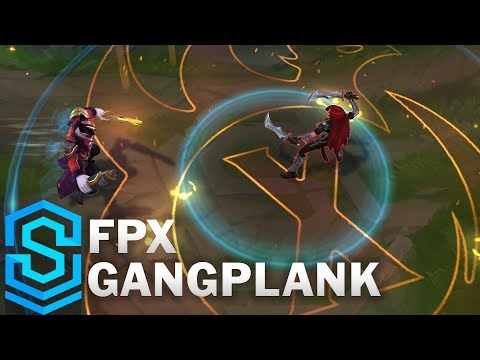FPX Gangplank Skin Spotlight - League of Legends